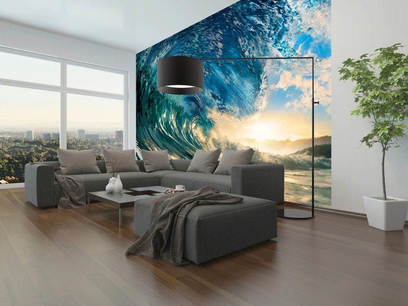 Волна в интерьере фото