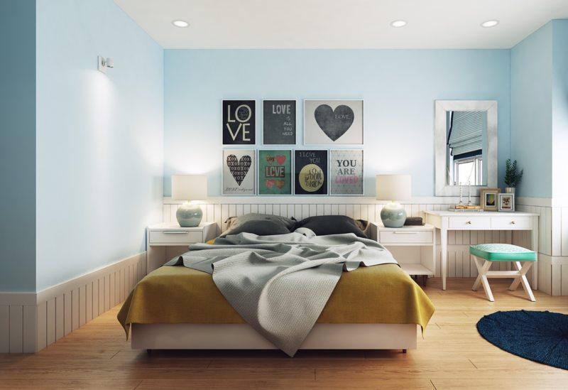 Голубая спальня (19)