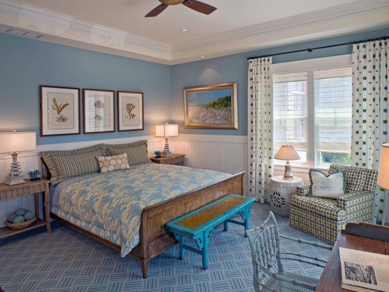 Голубая спальня (2)