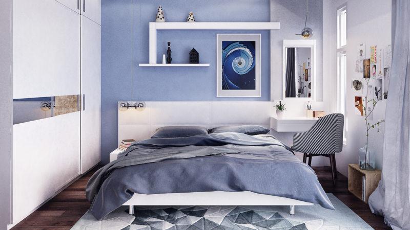 Голубая спальня (21)