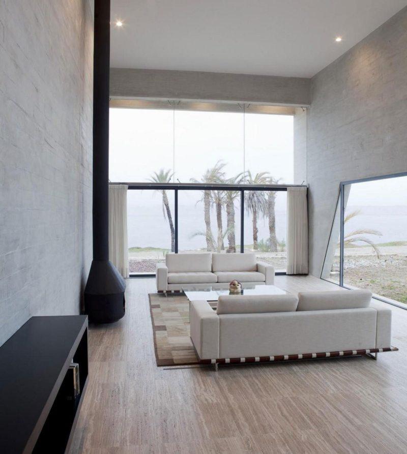 Гостиная в стиле минимализм (43)