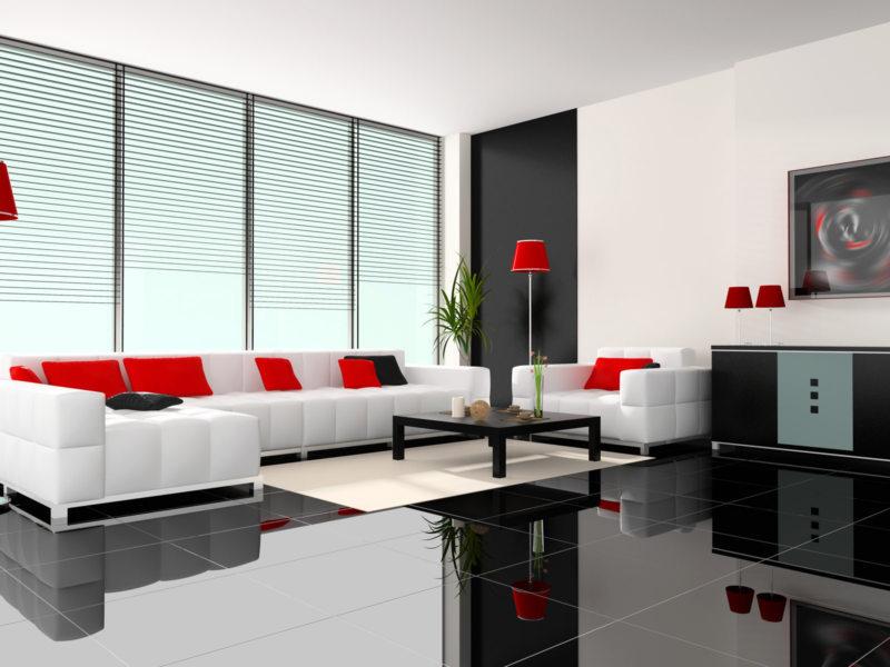 Гостиная в стиле минимализм (53)