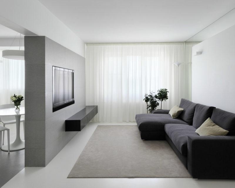 Гостиная в стиле минимализм (66)