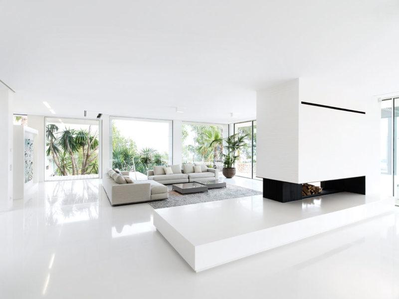 Гостиная в стиле минимализм (68)