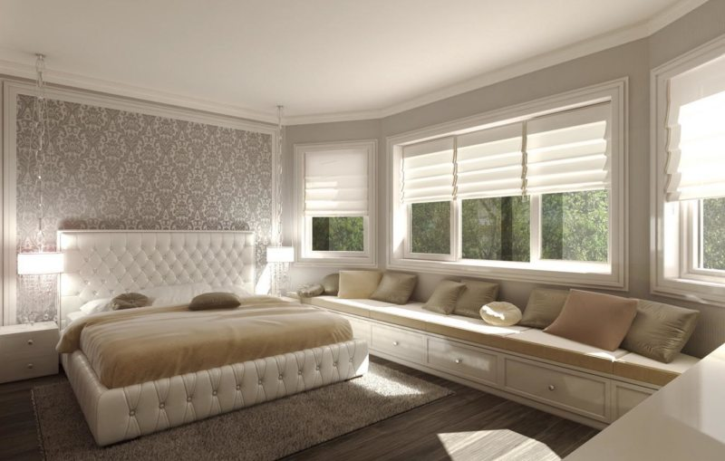 Красивые спальни (24)