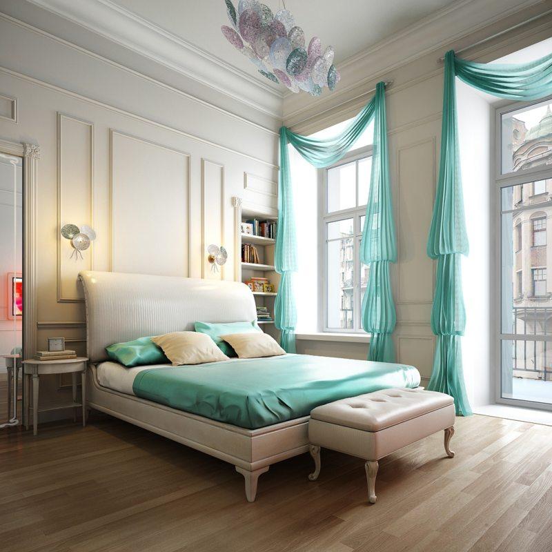 Красивые спальни (34)