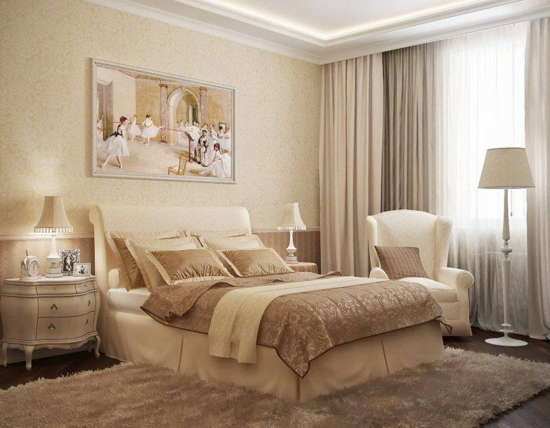 Красивые спальни (48)
