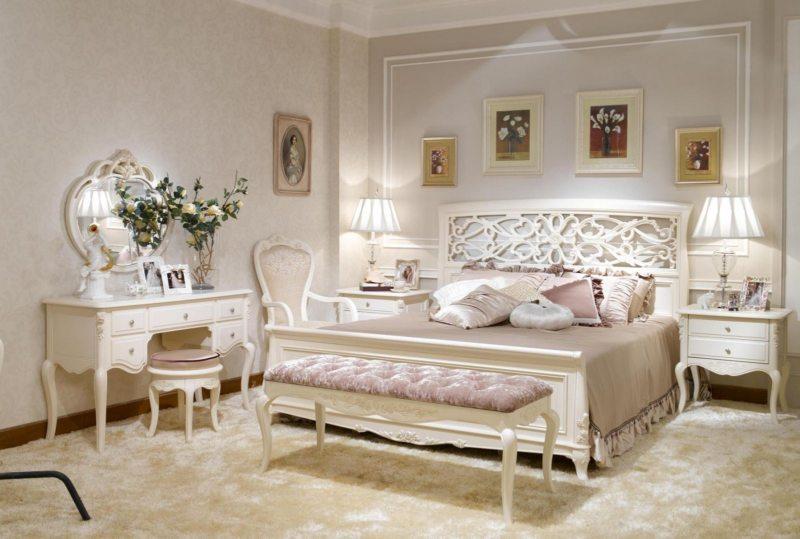 Красивые спальни (49)