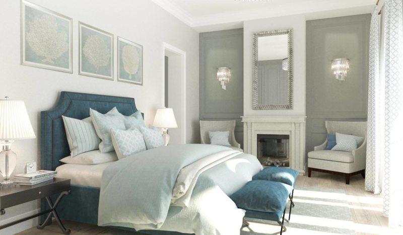 Красивые спальни (51)