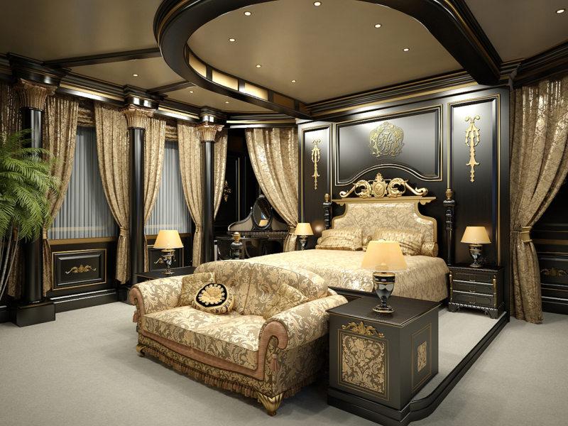 Красивые спальни (58)