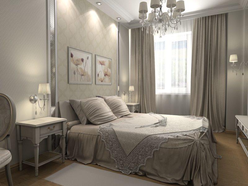 Красивые спальни (60)