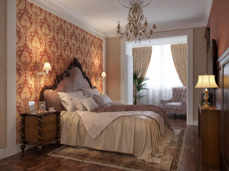 Красивые спальни (61)