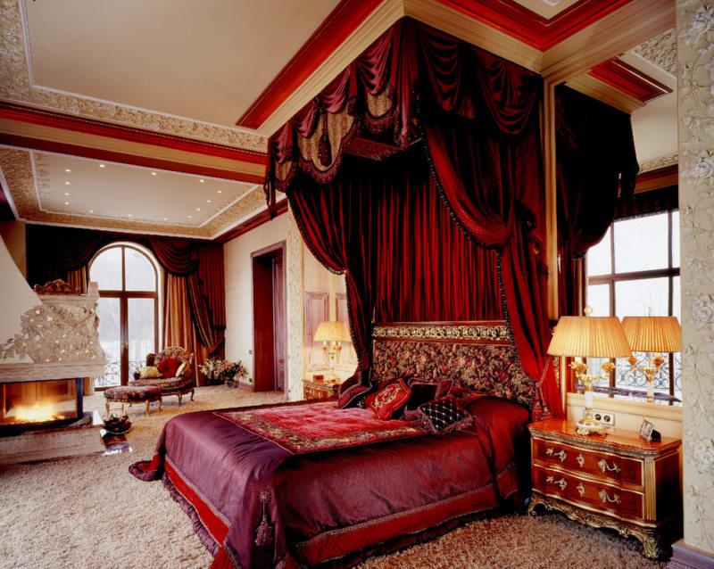 Красная спальня (15)