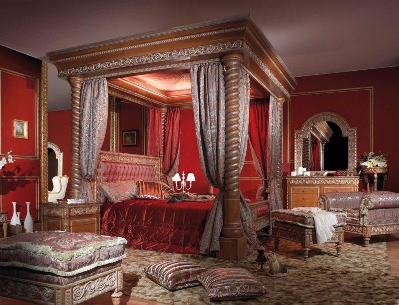 Красная спальня (2)