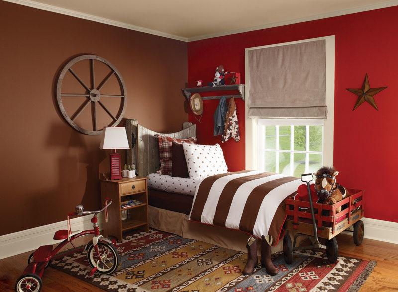 Красная спальня (6)