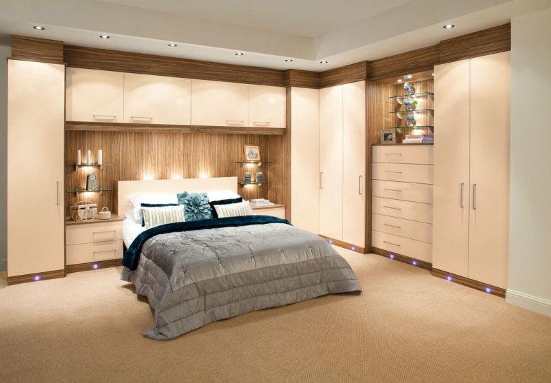 Кровать встроенная в шкаф (11)