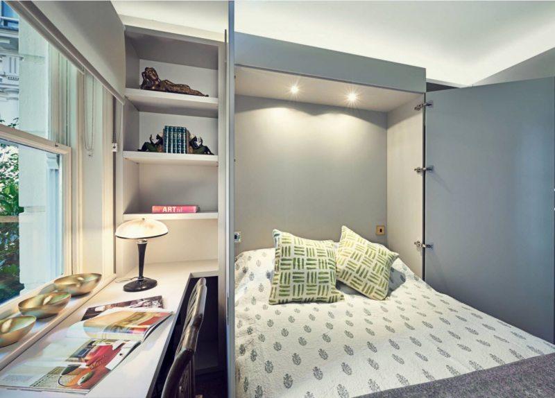 Кровать встроенная в шкаф (13)