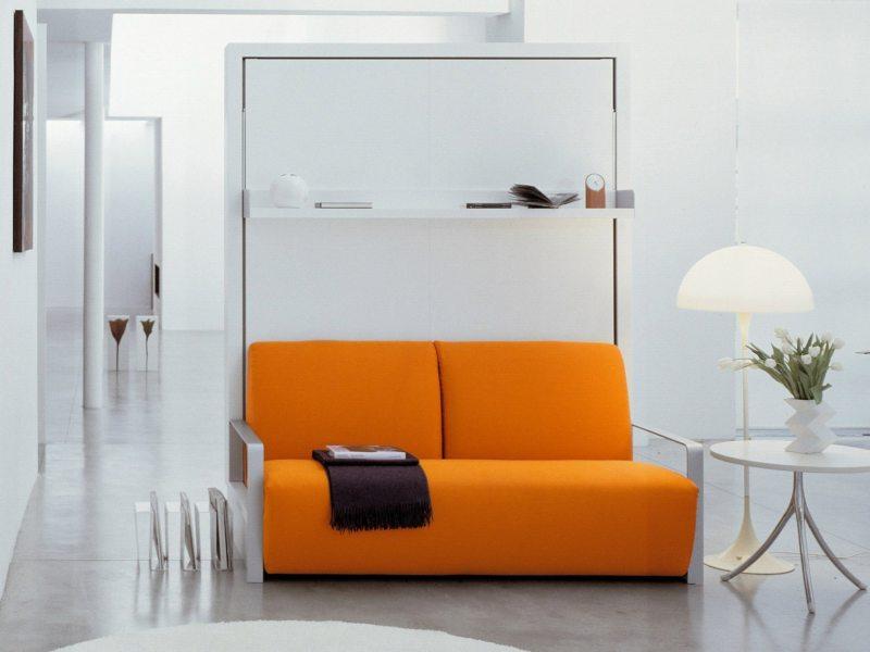 Кровать встроенная в шкаф (15)