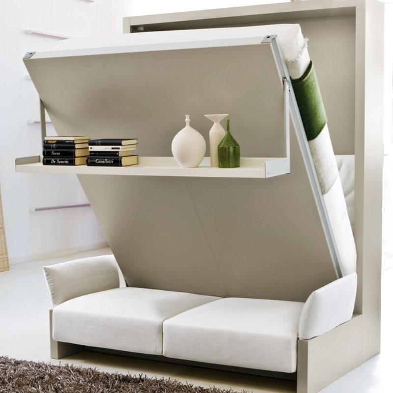 Кровать встроенная в шкаф (18)