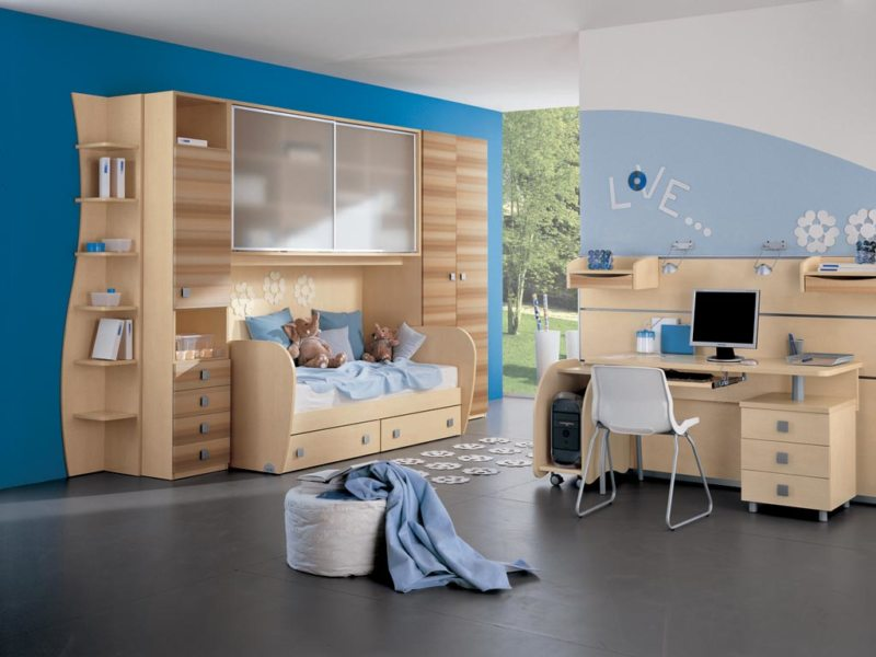Кровать встроенная в шкаф (30)