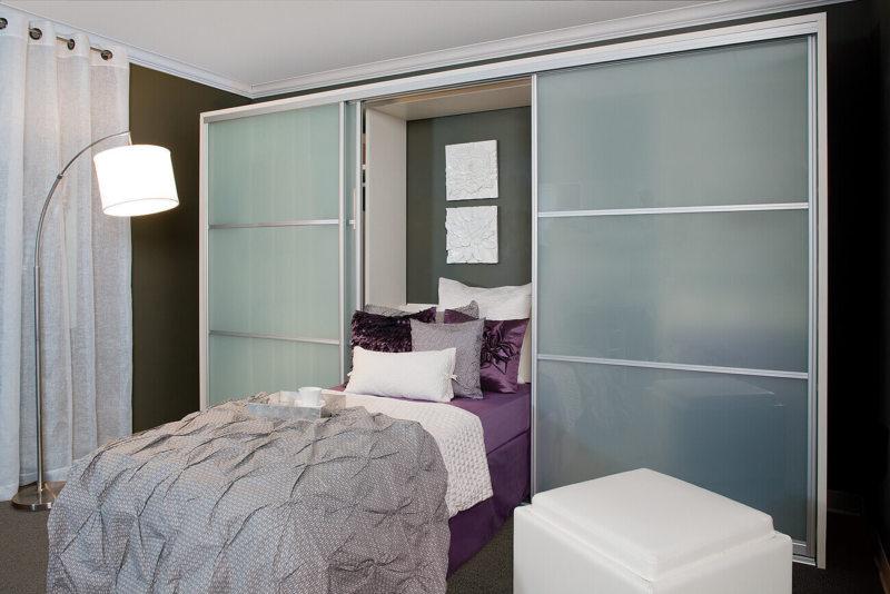 Кровать встроенная в шкаф (39)