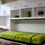 Кровать встроенная в шкаф (4)