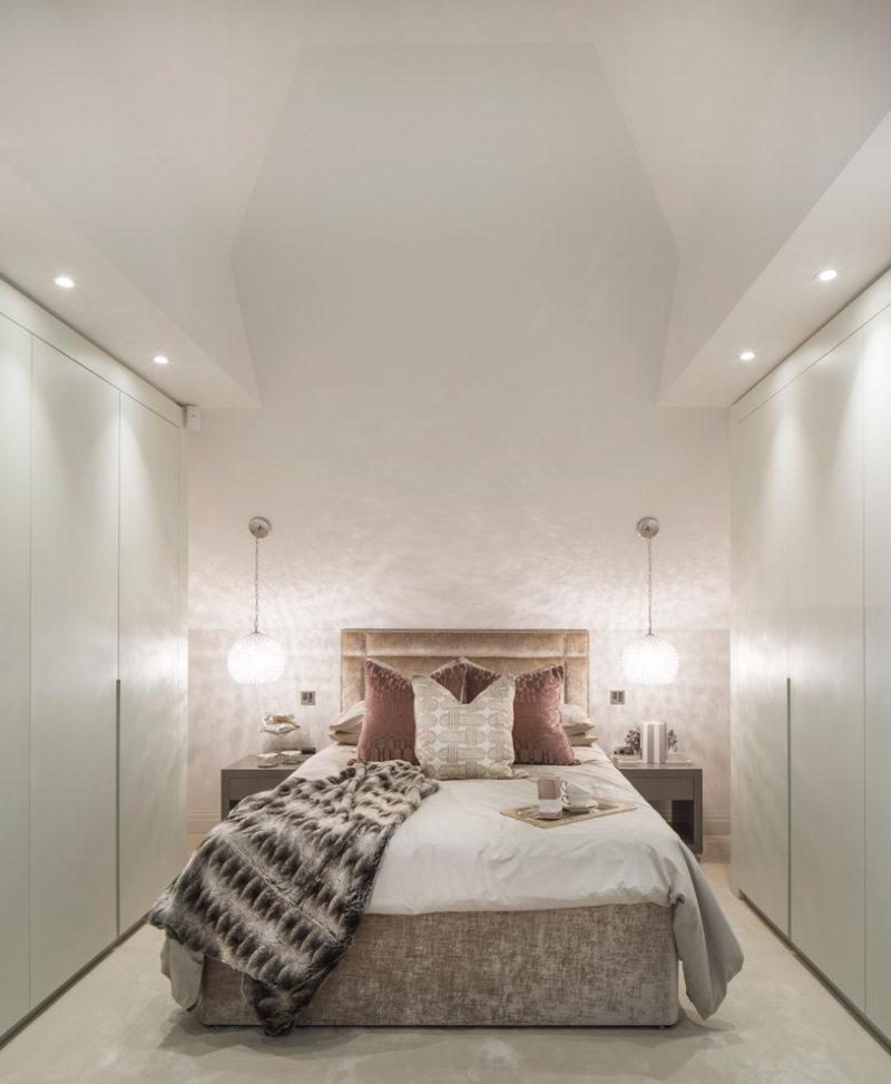 Кровать встроенная в шкаф (45)