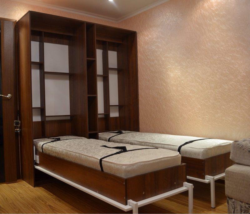 Кровать встроенная в шкаф (46)