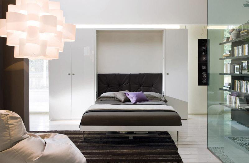 Кровать встроенная в шкаф (5)