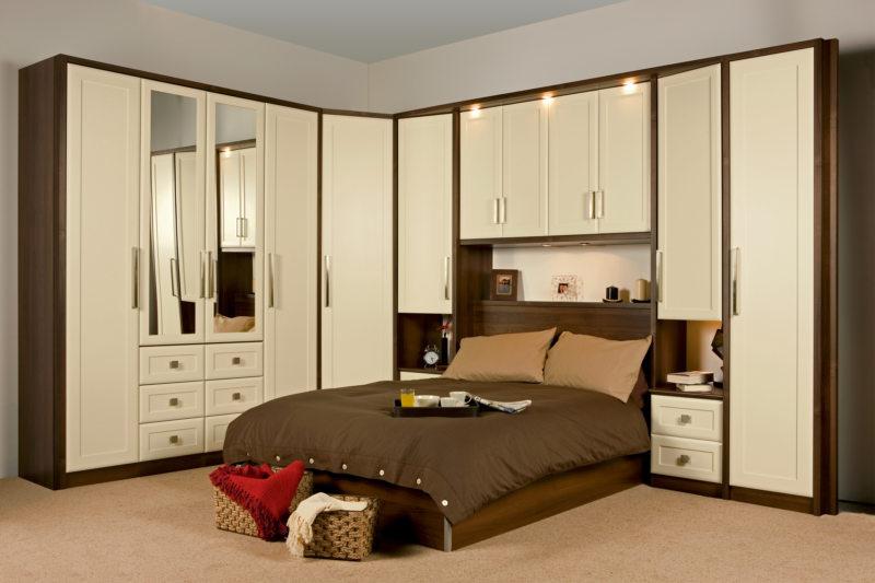 Кровать встроенная в шкаф (50)