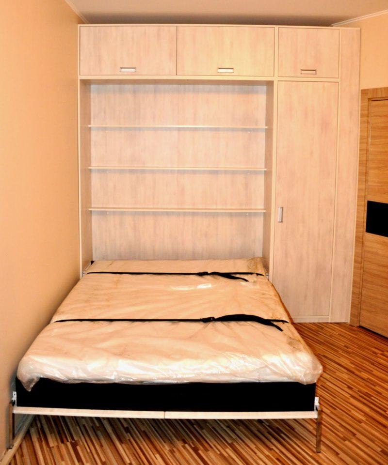 Кровать встроенная в шкаф (51)