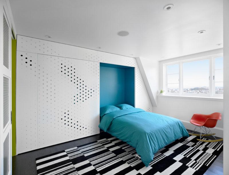 Кровать встроенная в шкаф (52)