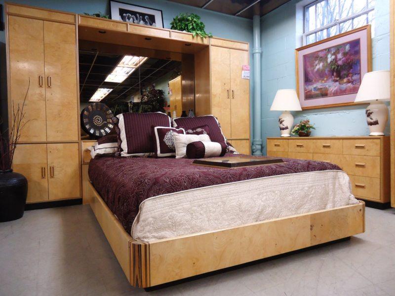 Кровать встроенная в шкаф (54)