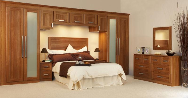 Кровать встроенная в шкаф (56)