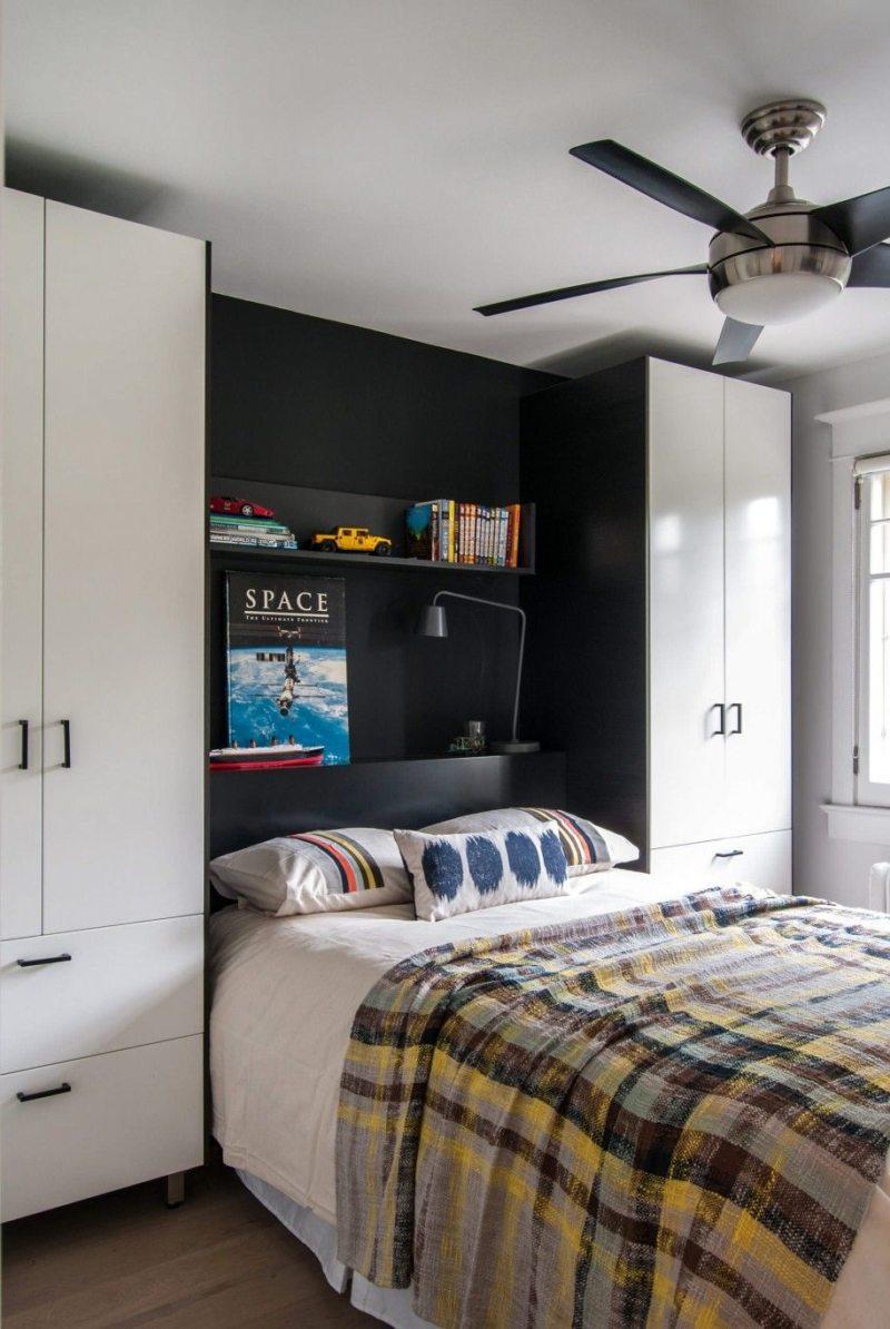 Кровать встроенная в шкаф (58)