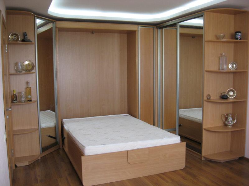 Кровать встроенная в шкаф (64)