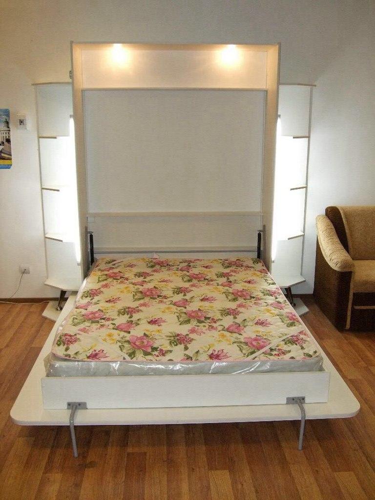 Кровать встроенная в шкаф (65)