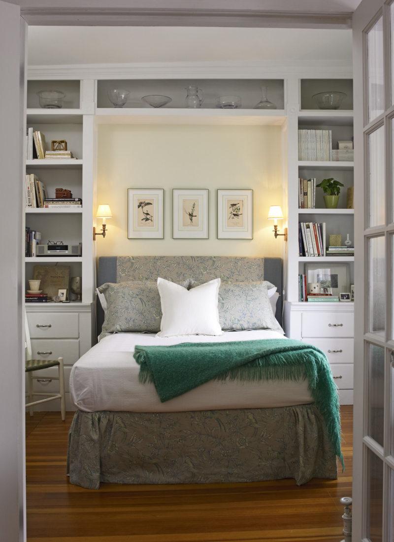 Кровать встроенная в шкаф (66)