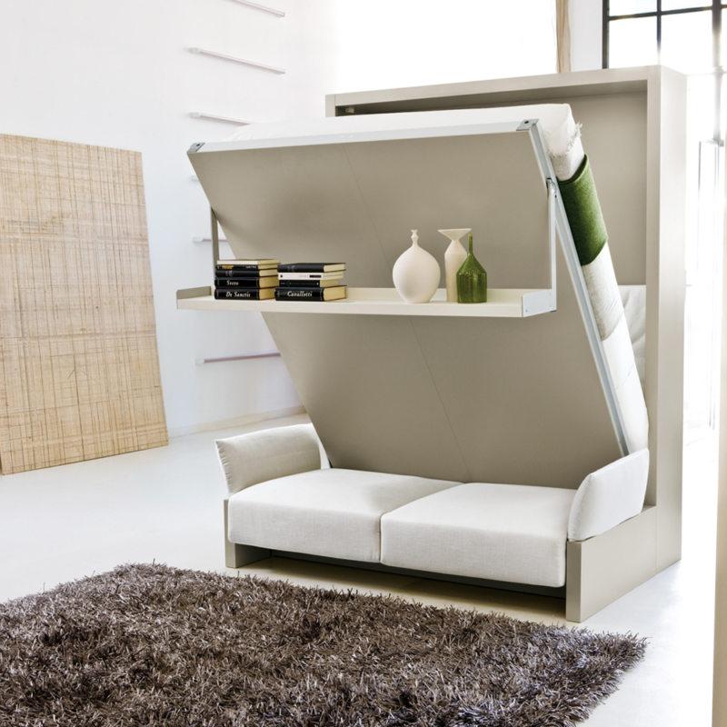 Кровать встроенная в шкаф (67)