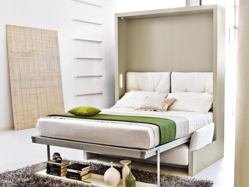 Кровать встроенная в шкаф (69)
