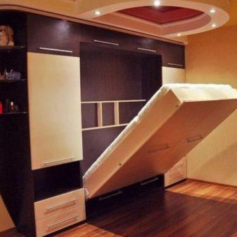 Кровать встроенная в шкаф (71)