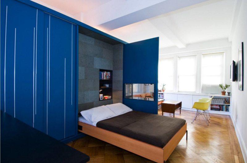 Кровать встроенная в шкаф (8)