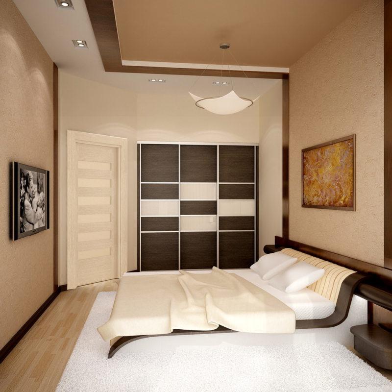 Квадратная спальня (1)