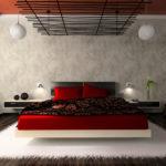 Квадратная спальня (18)