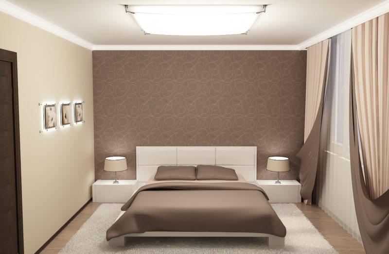 Квадратная спальня (2)