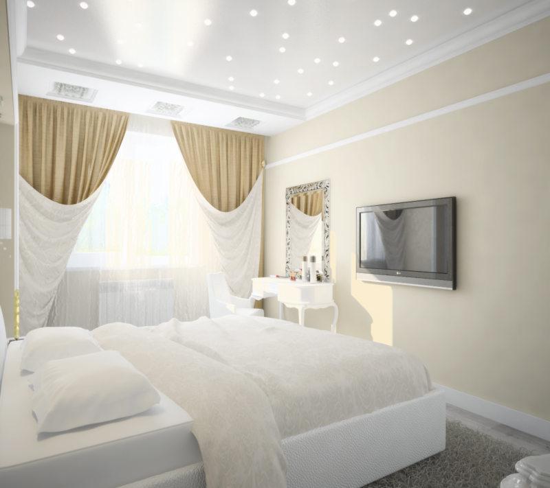 Квадратная спальня (28)