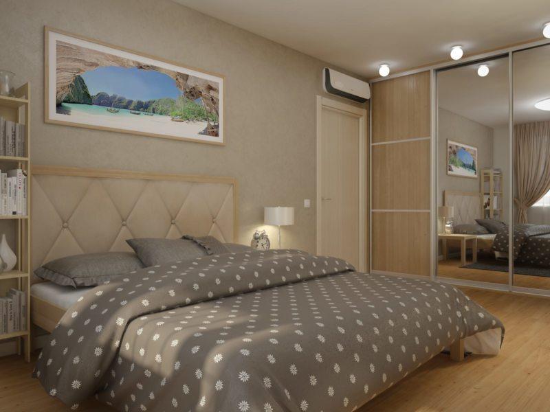Квадратная спальня (29)