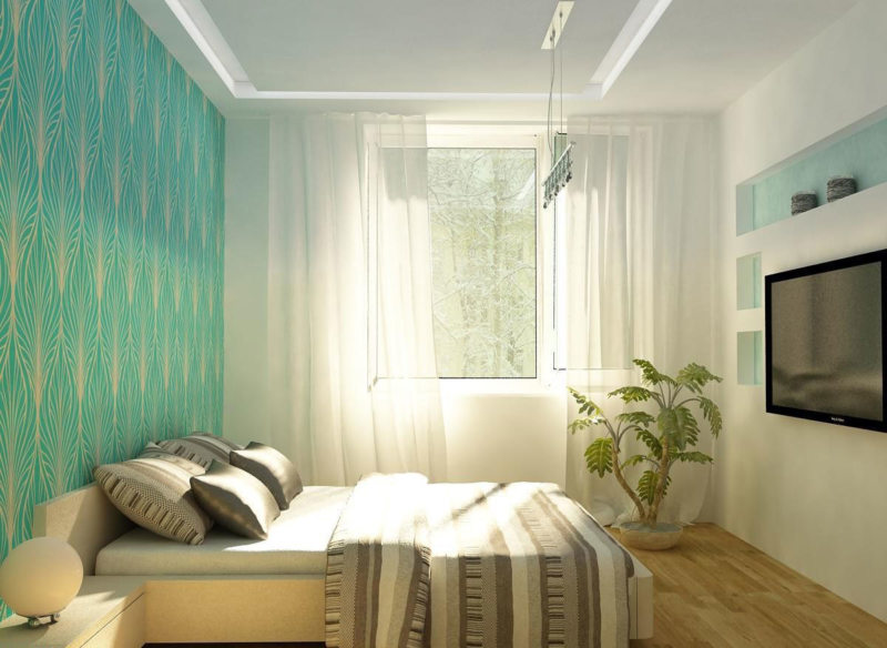 Квадратная спальня (3)