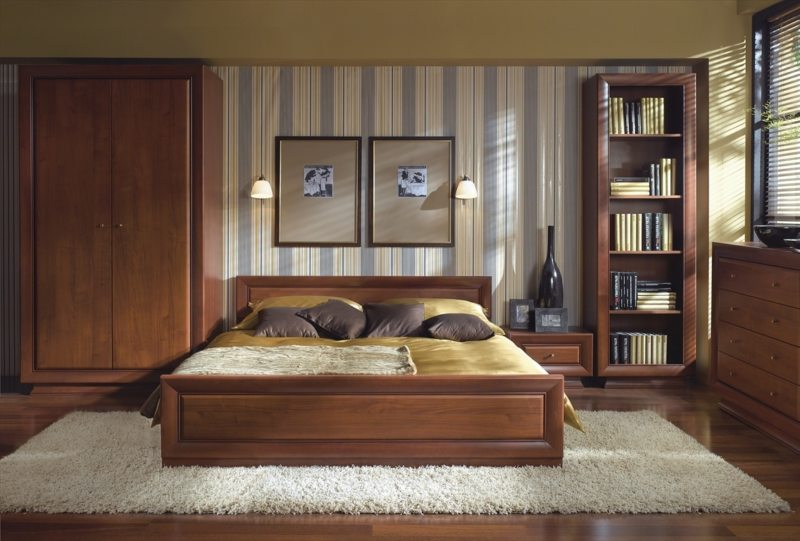 Квадратная спальня (35)