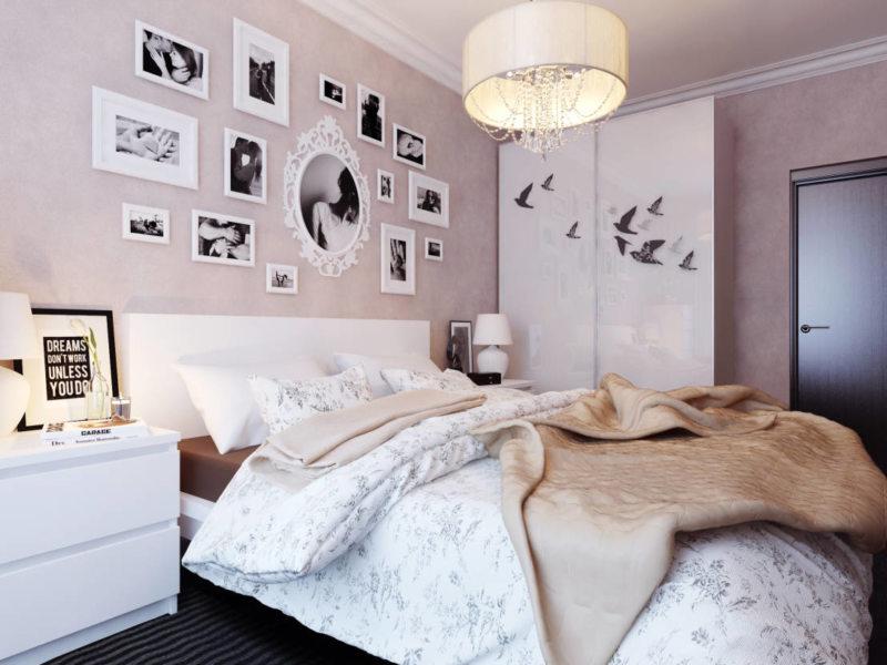 Квадратная спальня (37)
